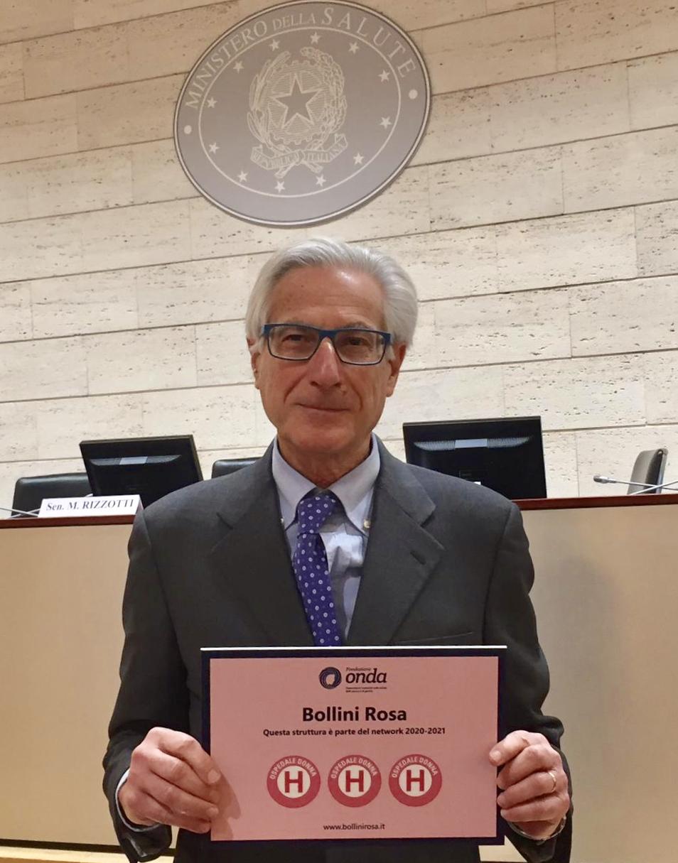 Il professor Luca Chiovato, capo dipartimento Medicina interna Maugeri