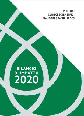 La copertina del Bilancio di Impatto 2020