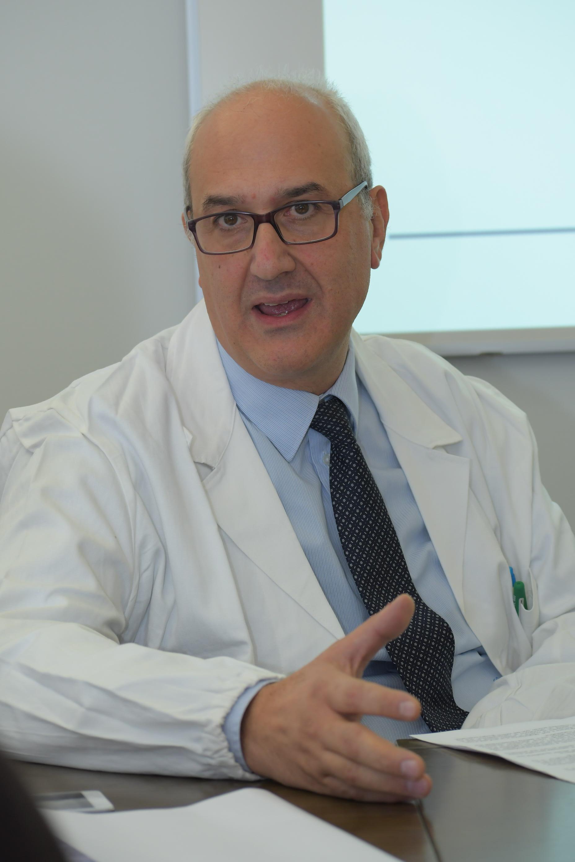 Il professor Fabio Corsi, direttore clinico della Breast Unit