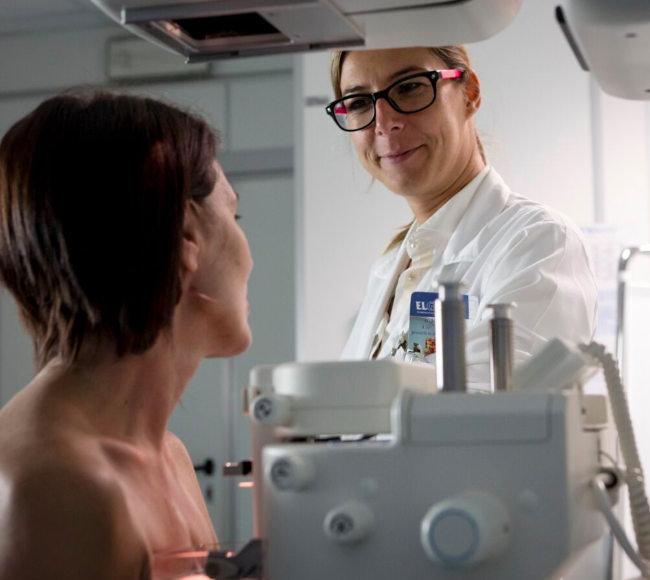 Mammografia all'IRCCS Maugeri