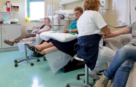 Chemioterapia all'IRCCS Maugeri Pavia