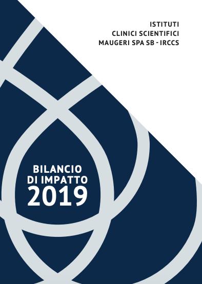 La copertina del Bilancio di Impatto 2019
