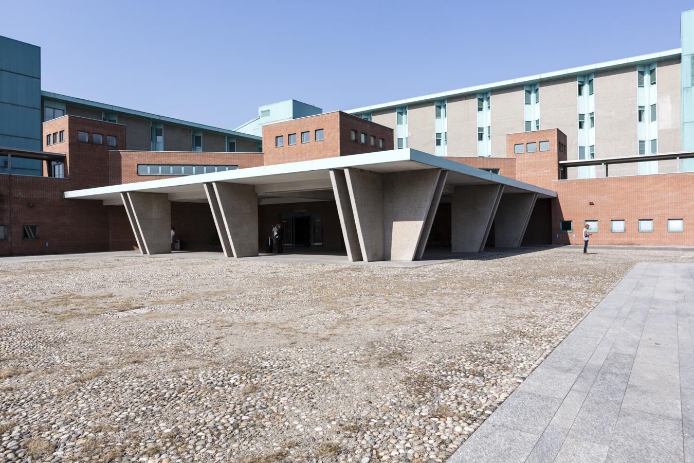 IRCCS Maugeri Pavia, l'entrata principale